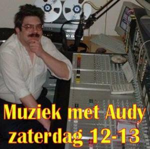 muziek met audy  zaterdag 12-13